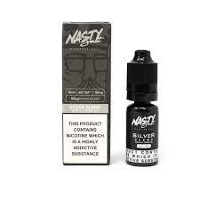 Nasty Juice Nic Salt Silver Tobacco 10ml